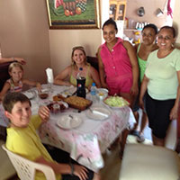 Home Hosted Lunch with Dominican Family