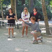 Pétanque Lesson in Paris