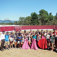 Bull Ranch Visit, Bullfighting Demonstration and Lunch