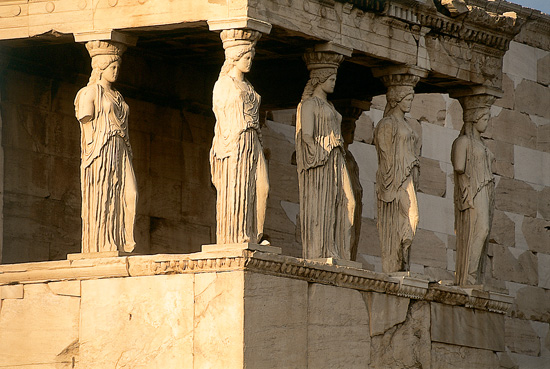 Detail of the Acropolis