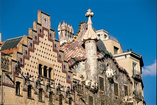 Gaudí's Casa Batllo