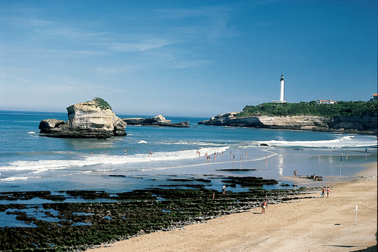 The Biarritz French Coast