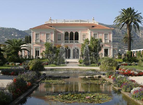 Côte d'Azur Villa Ephrussi de Rothschild