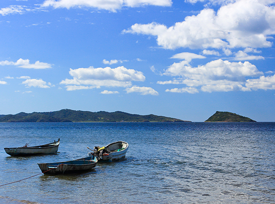Guanacaste Coast Fishing Boats