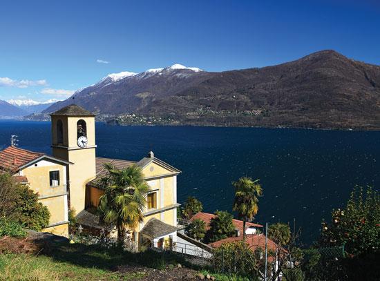 Church Of San Bartolomeo At Lago Maggiore