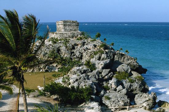 Quintana Roo Ruins of Tulum