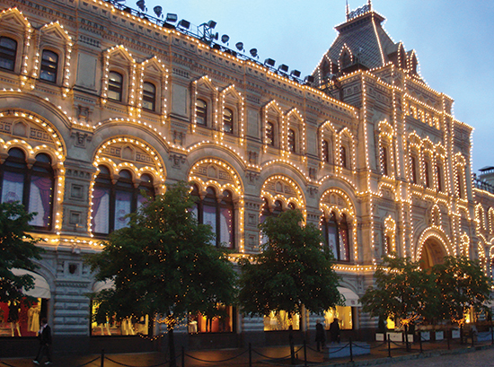 Moscow GUM Mall