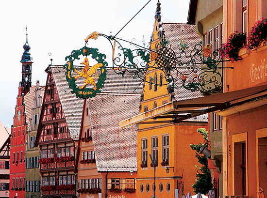 Rothenburg Facades