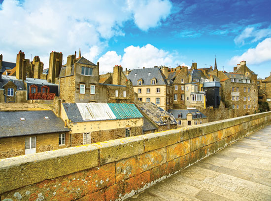 Saint Malo City Walls