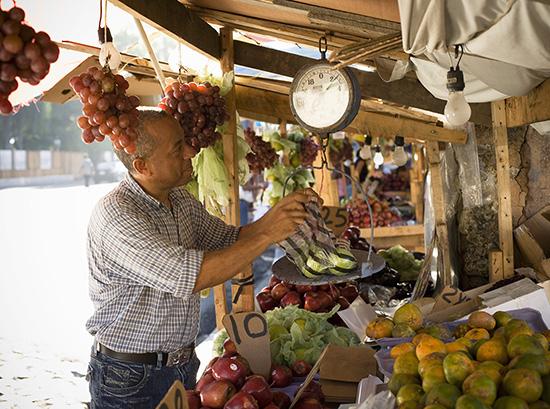 Market Vendor in Santo Domingo