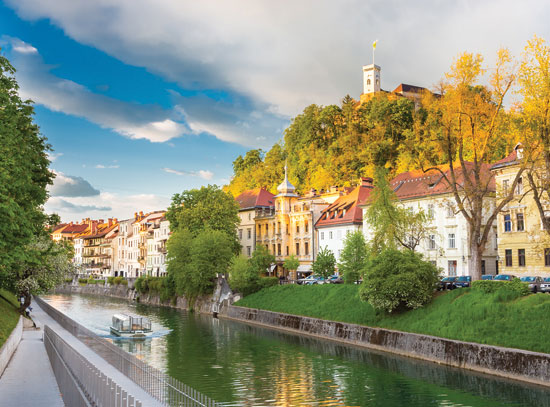 Medieval houses of Ljubljana