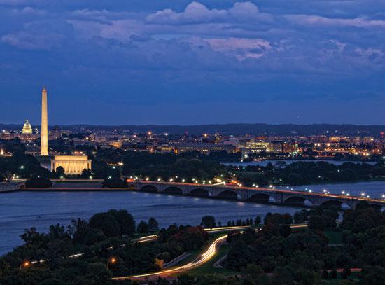 Washington, Dc By Night
