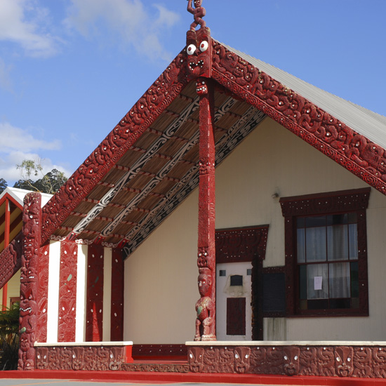 Rotorua indigineous meeting house